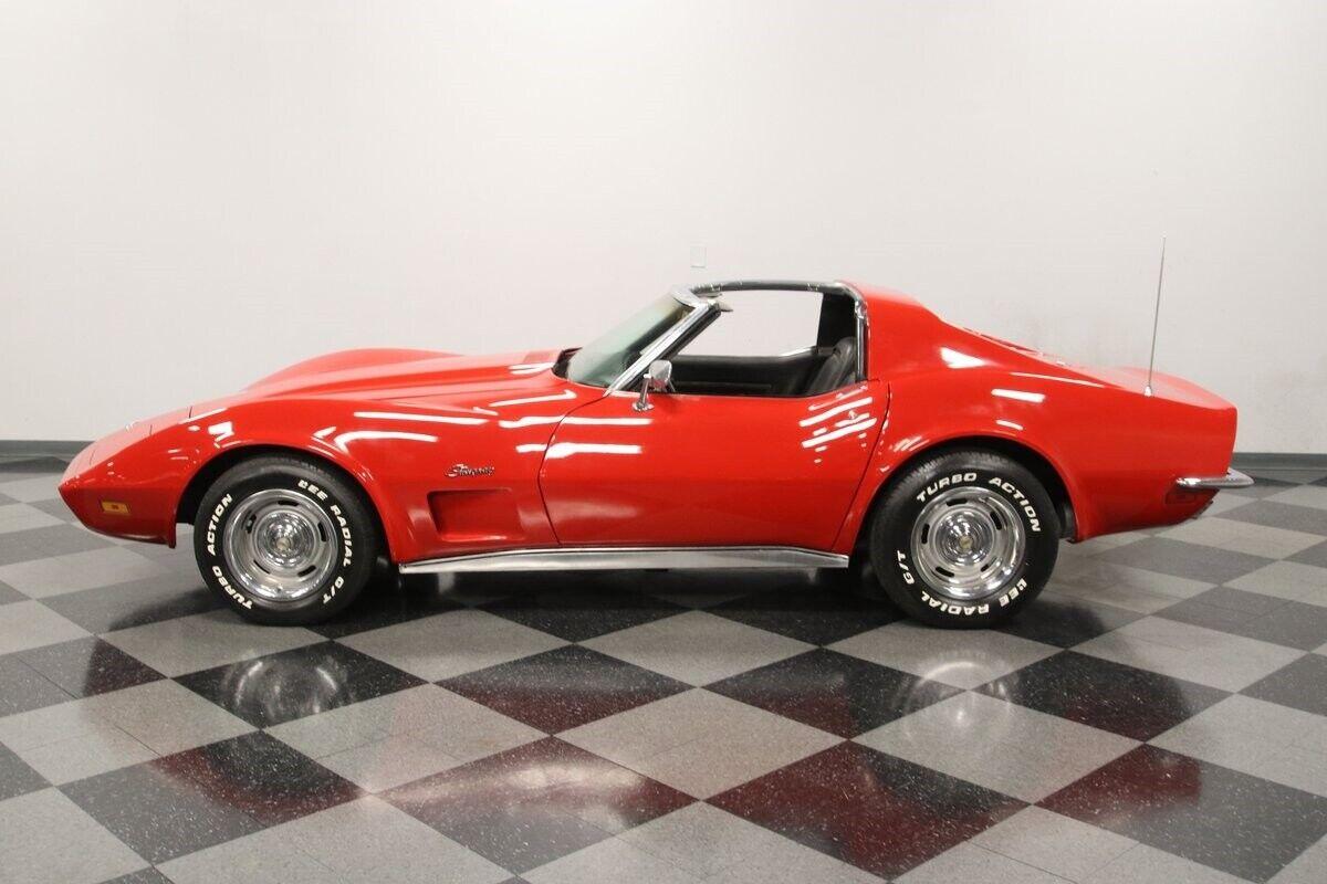 1971 Red Chevrolet Corvette   | C3 Corvette Photo 4