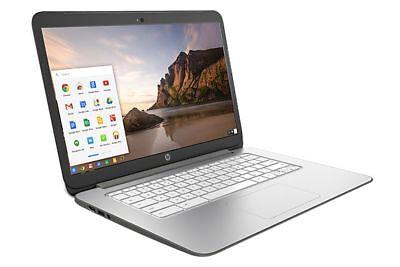 HP Chromebook 14 Laptop Intel Celeron 2955U 1.40GHz 4GB RAM 16GB SSD Chrome OS