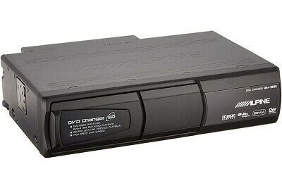 Alpine Audio Del Coche 1Din 6 DVD Cambiador Discos & Reproductor DHA-S690