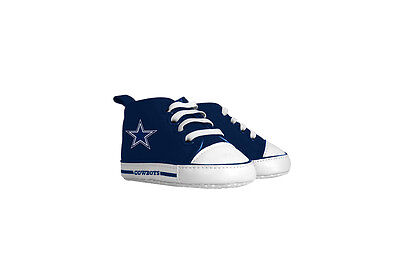 Dallas Cowboys Pre Walkers Hightop Shoes Sneakers 0-6 Months Baby Fanatic NWT](Dallas Cowboys Baby)