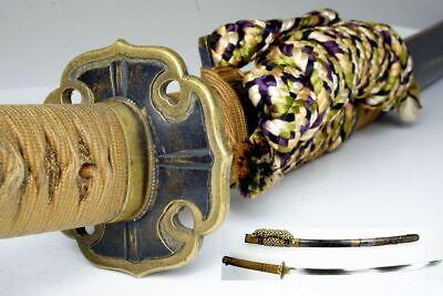 "Antique Japanese TACHI Sword ""Taikei-Naotane 大慶直胤"" Samurai Katana Nihonto"
