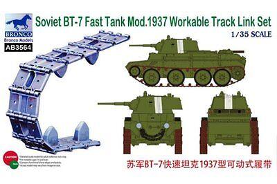 BRONCO AB3564 1/35 Soviet BT-7 Fast Tank Mod.1937 Workable Track Link Set