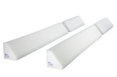 Long (150cm) Foam Bed Bumper Bed Guard For Taller Or Active Children (Twin Pack)