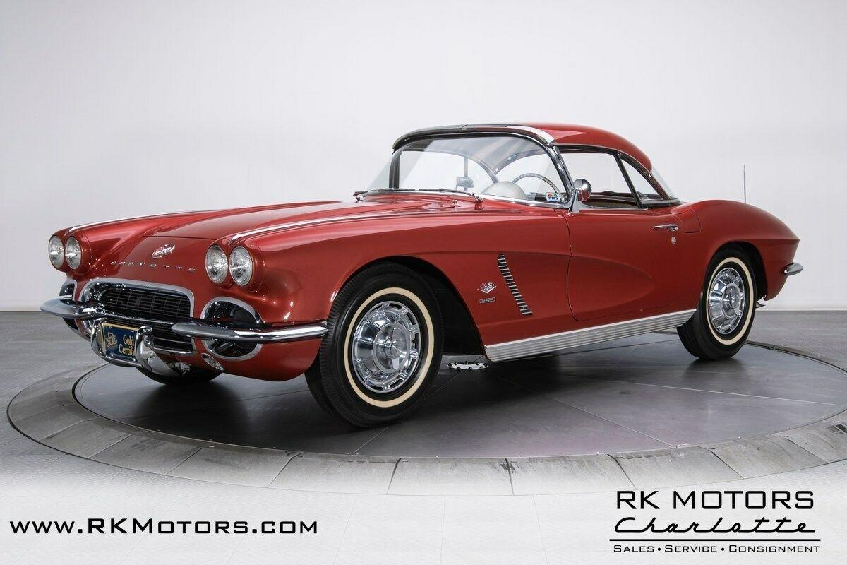 1962 Honduras Maroon Chevrolet Corvette   | C1 Corvette Photo 8