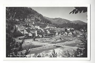 The Morning Mine In The Coeur D Alene  Idaho Rppc