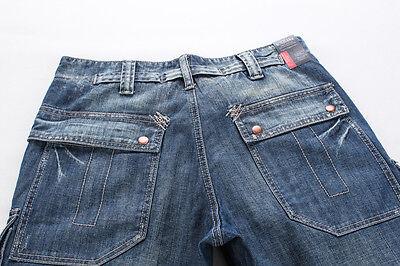 0c177d3c ... FOX JEANS Men's Monroe Regular Fit Straight Blue Denim Mens Cargo Jeans  32-44 фото