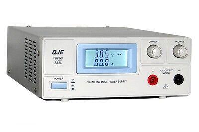 Labornetzgerät 0-30V 20A 600W Netzgerät Labornetzteil regelbares Netzteil aktiv