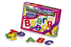 Wooden-Toys-Magnetic-Letters-Magnets-Fridge-Magnetic-Educational-fun-learning