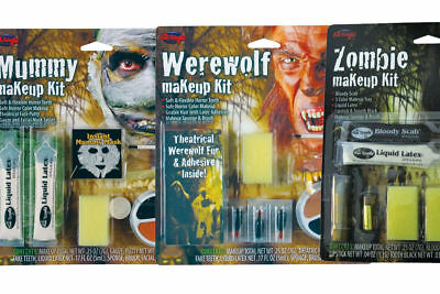 Halloween Special FX Make Up Kits Adults Kids Fancy Dress Face Paint ()