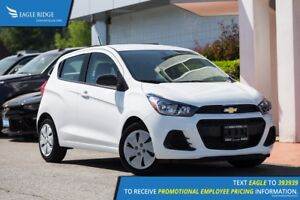 2018 Chevrolet Spark LS CVT A/C, Backup Camera, AUX/USB
