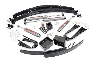 "ROUGH COUNTRY 6"" SUSPENSION LIFT KIT CHEVY GMC K30 K35 1 TON PICKUP 77-87 4WD"
