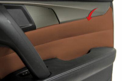 Acura TL 2pc Front Door Panel Insert Card Set Vinyl OEM Umber Brown for 09-14