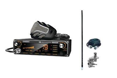 UNIDEN BEARCAT 980 SSB 40 Channel Mobile CB Radio w/ Sideband PLUS Antenna Kit