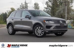 2015 Volkswagen Touareg - AWD, NAVIGATION, LEATHER, HEATED STEER