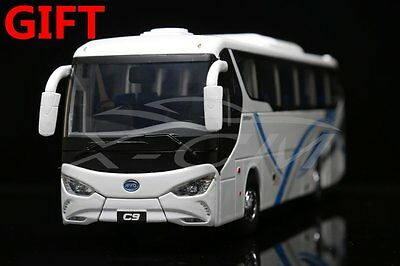 Bus Model BYD Pure Electric Bus C9 1:36  (White) + SMALL GIFT!!!!!!!!!!