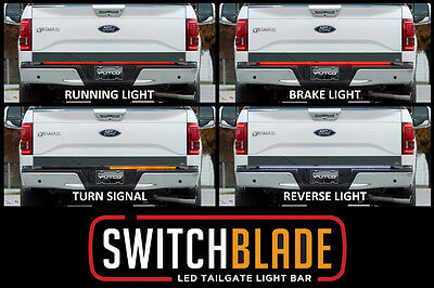 Putco 92009 60 SwitchBlade LED Tailgate Light Bar Fits All Full Size Truck NEW
