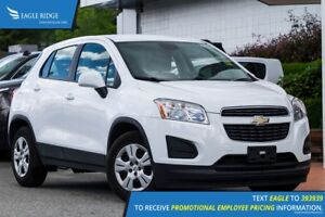 2014 Chevrolet Trax LS Manual, AUX, Air Conditioning