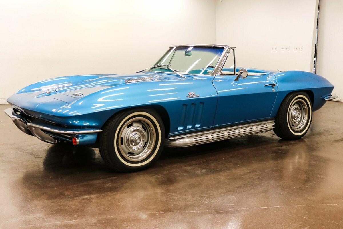 1966 Blue Chevrolet Corvette   | C2 Corvette Photo 3
