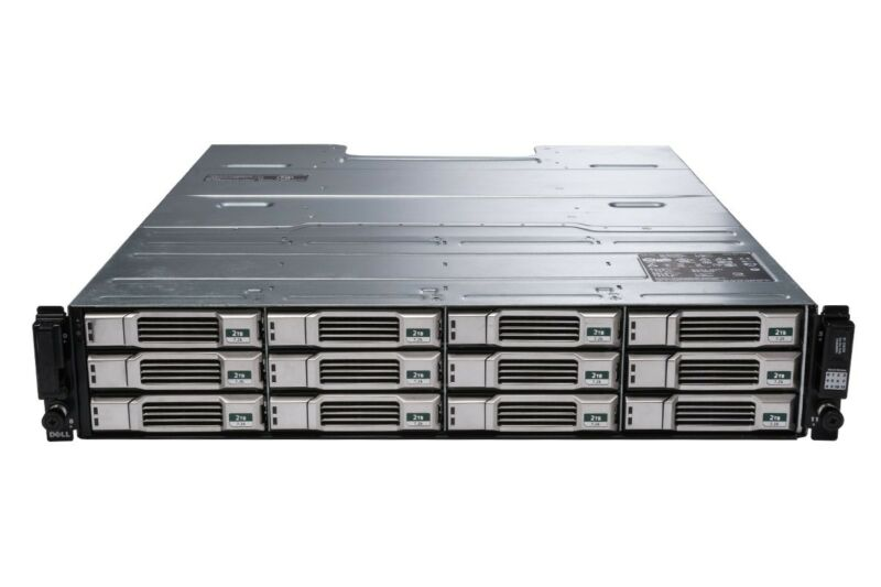 "Dell EqualLogic PS4110E 12 x 3TB NL-SAS 6GBps 3.5"" iSCSI SAN Array 36TB Rack 2U"