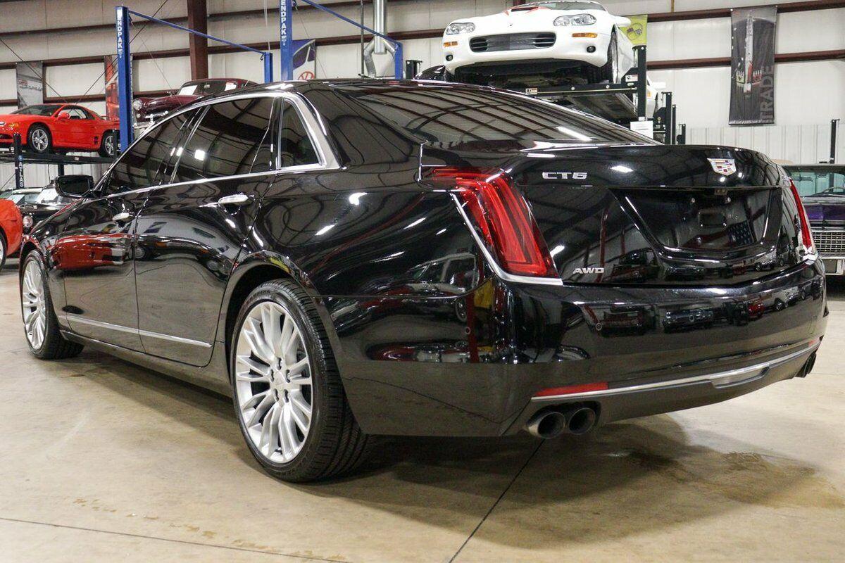 2017 Cadillac CT6  37451 Miles Stellar Metallic Black Sedan 3.0L Twin Turbo V6 A