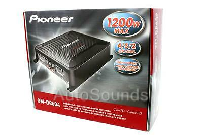 Pioneer GM Digital Series GM-D8604 1200 Watt 4-Channel Class FD Car Amplifier