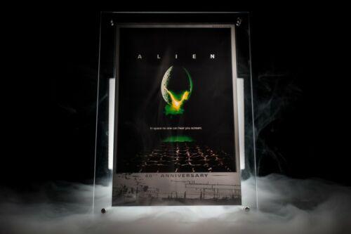 2019 Tuvalu Alien Poster 35 gram Silver in Display