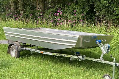1 WEEK HIRE! Bantam U12 - 3.6m Aluminium Lightweight Fishing & Work Jon Boat