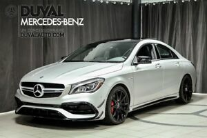 2018 Mercedes-Benz CLA45 AMG CLA45 AMG Driver's Package + Exclus