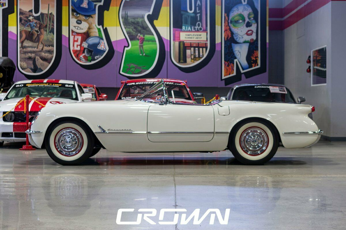 1954 White Chevrolet Corvette   | C1 Corvette Photo 5