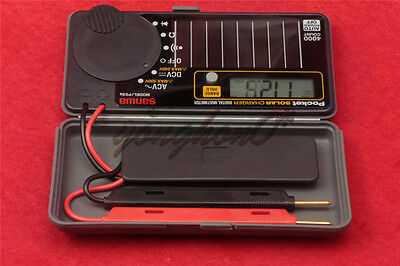 1pcs New Sanwa Ps8a Solar Battery Pocket Size Multimeter Dmm 0.7