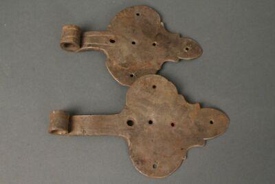Hinges Door Handles Wrought Iron Antique Hinge 20 cm Turban Fittings