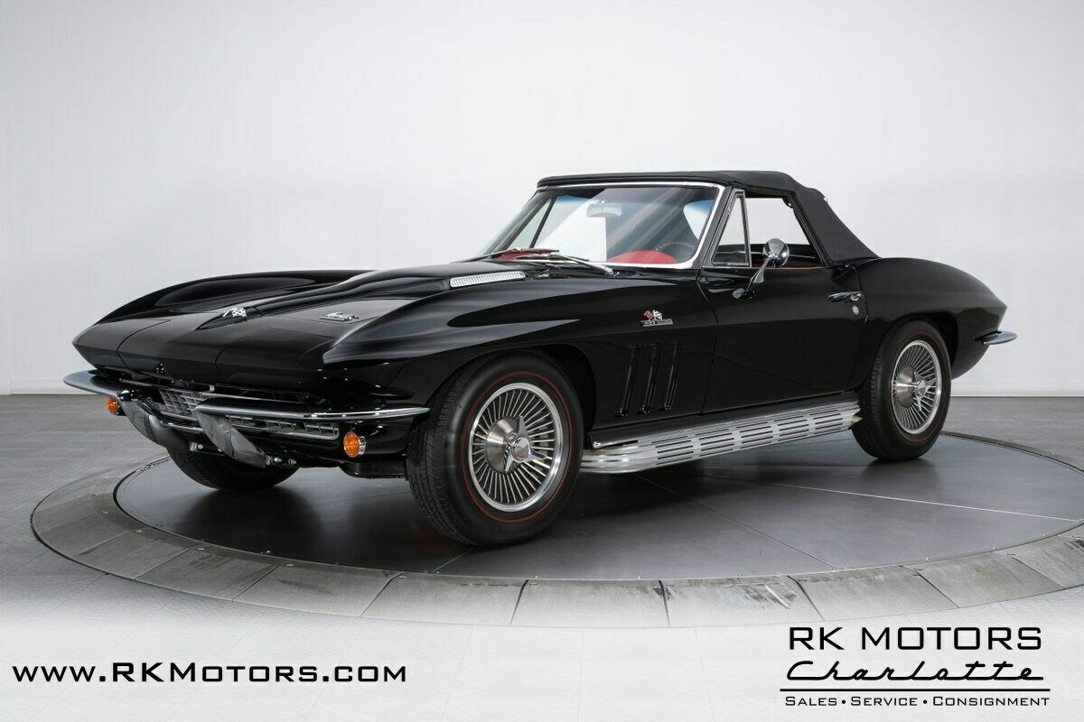 1966 Black Chevrolet Corvette   | C2 Corvette Photo 7