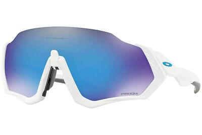 Gafas de sol Oakley Flight Jacket OO9401 940102 Prizm Sapphire ¡Nuevo modelo!