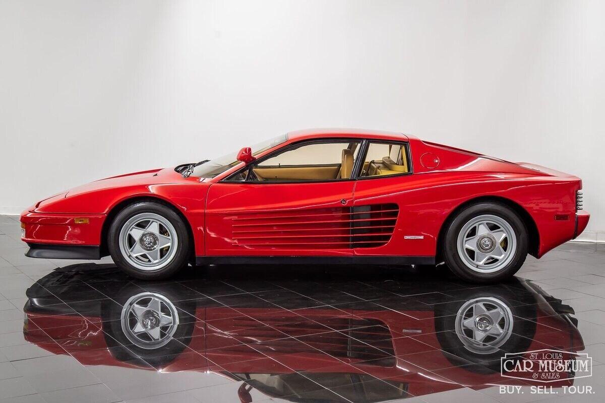 1986 Ferrari Testarossa Coupe  5 Speed Manual 4.9L V12