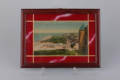 Souvenir de Dieppe  Hinterglasansicht, 1920er Jahre