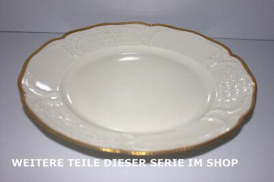 Rosenthal Sanssouci  elfenbeinfarben Poliergoldrand 2819 Sauciere mit Teller ..