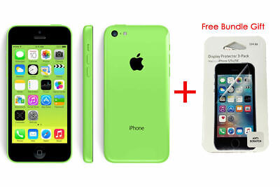 Apple iPhone 5c - 16GB Green (AT&T GSM Global Unlocked) - Preowned. 100% Tested