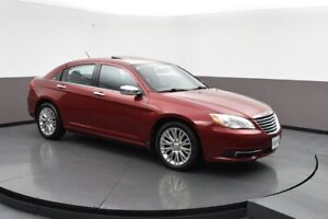 2012 Chrysler 200 LIMITED PACKAGE!! LEATHER SEATS, SUNROOF, ALLO