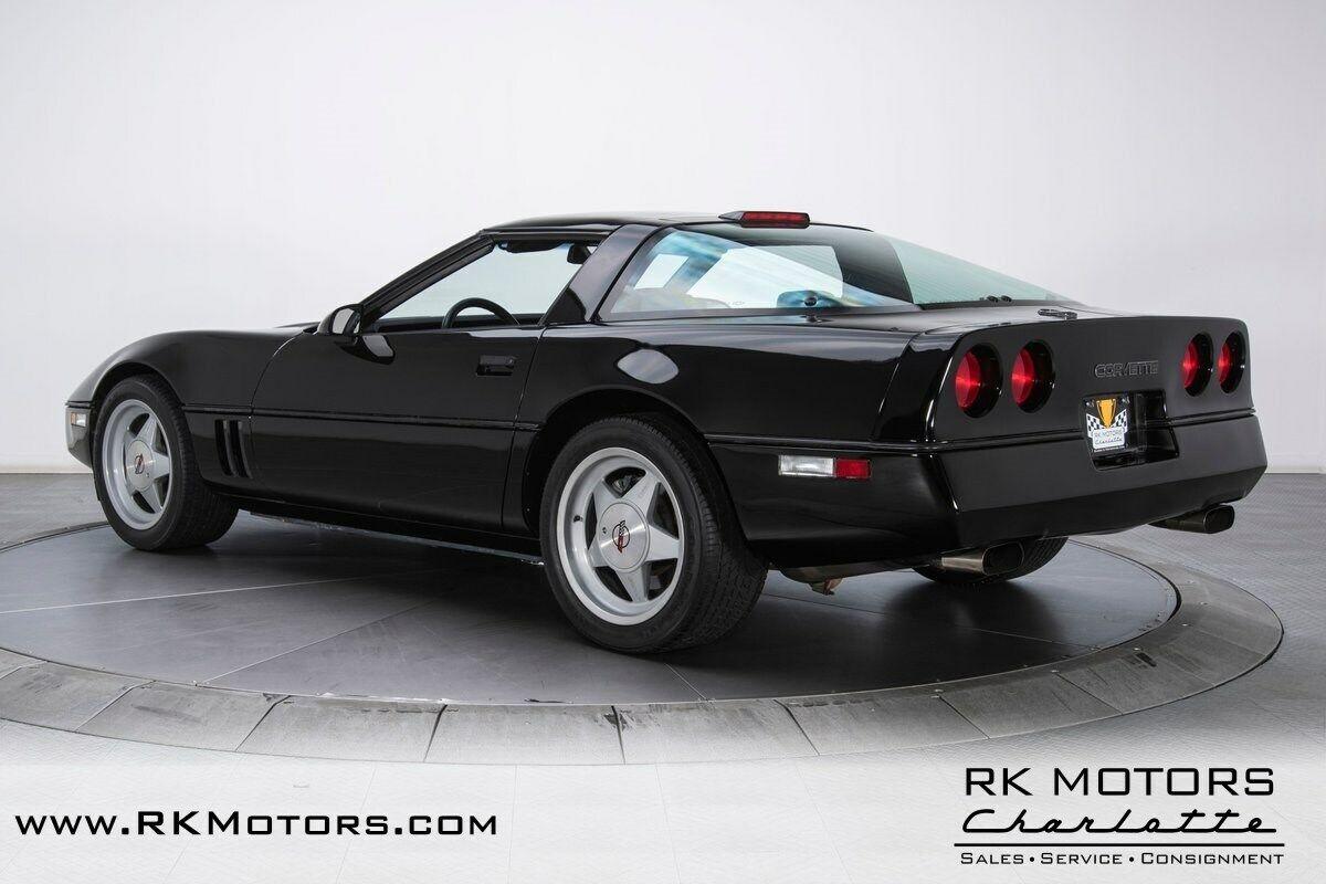 1988 Black Chevrolet Corvette Callaway  | C4 Corvette Photo 8