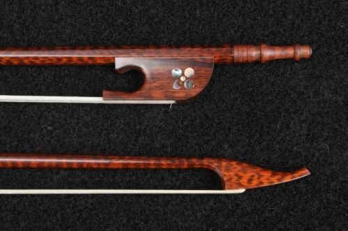 Italian Model Snakewood Baroque Viola Bow 730MM 61g-64g