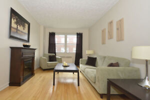 Two bed with hardwood off Portland St - Nov 1