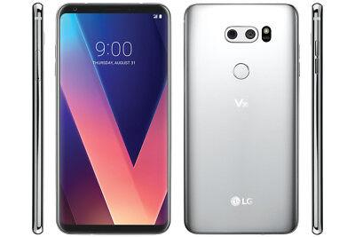 LG V30 US998 64GB GSM Unlocked Smartphone-Silver-Mint
