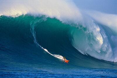 "Ken Bradshaw Biggest Wave in History 8x12"" Photo by HANK"