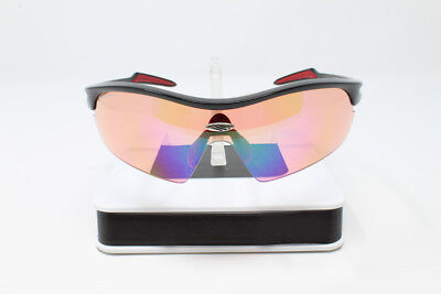 0fb9459ab04 BRAND NEW Rudy Project Revenge Black Gloss ImpactX Red Photochromic  Sunglasses