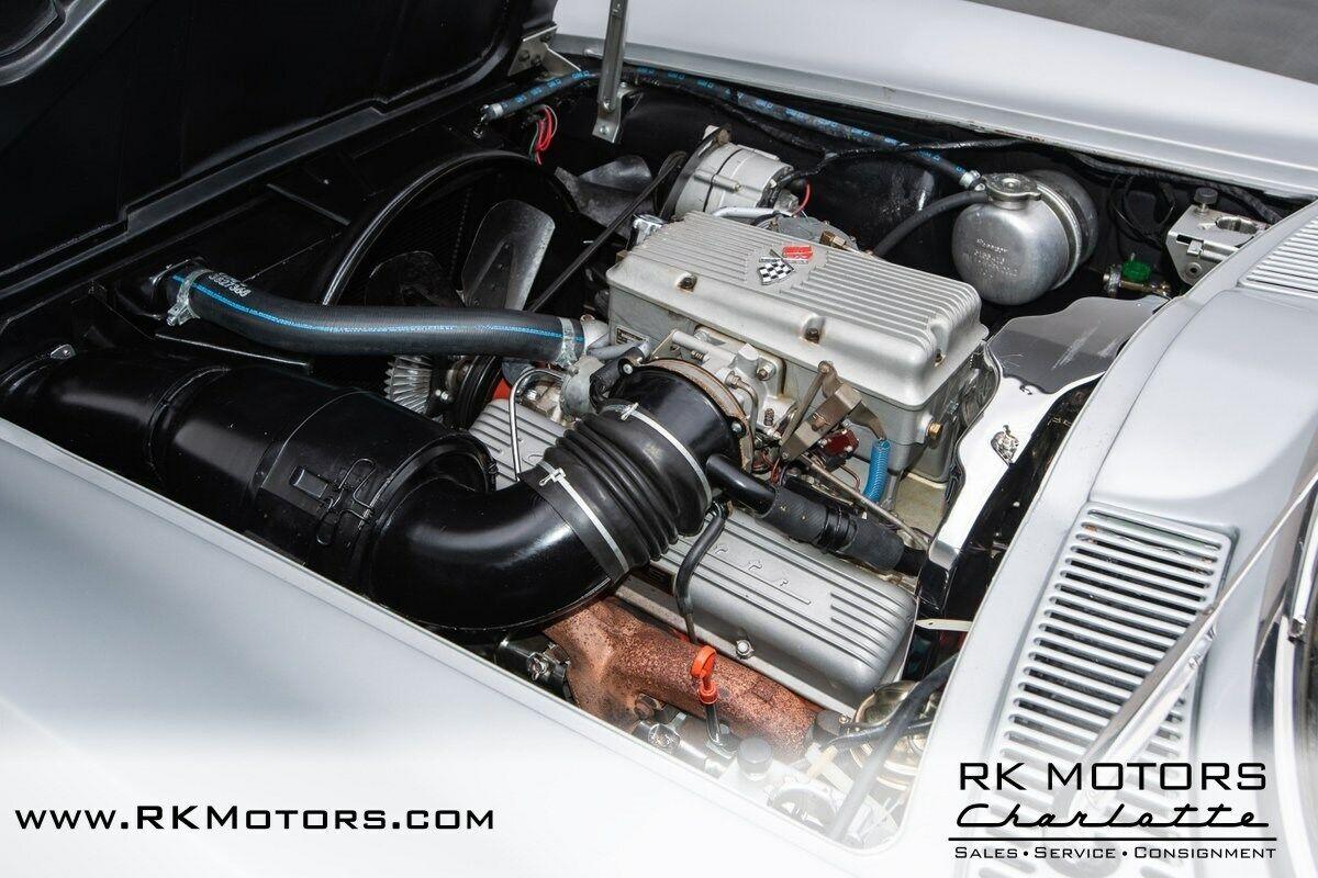 1964 Silver Chevrolet Corvette   | C2 Corvette Photo 4
