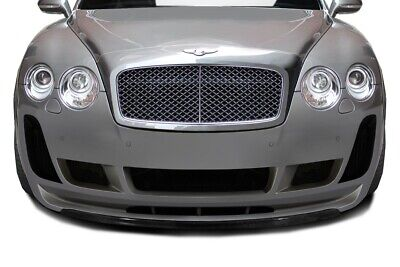 Bentley Continental GT GTC 03-10 Aero Function Carbon Fiber AF-2 Front Lip