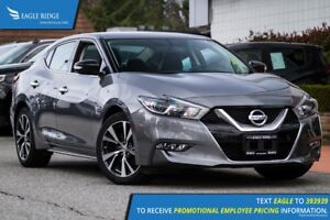 2016 Nissan Maxima SV Heated Seats, Backup Camera, AUX/USB, Nav