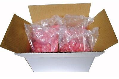 "GI SPORTZ Paintballs Case of 2000 Rounds - CLEAR / ""PINK"" .68 Caliber"