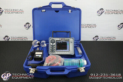 Olympus Epoch 600 Ultrasonic Flaw Detector Full Kit - Ge Krautkramer Panametrics