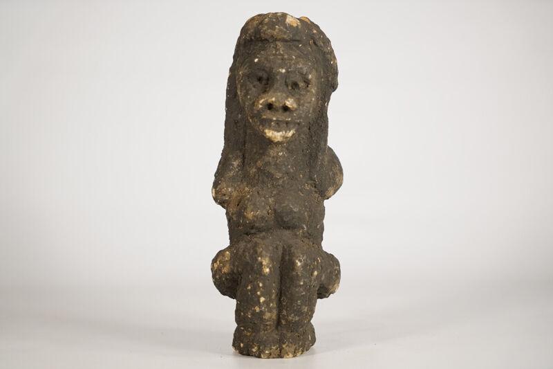 "Petite Kissi Stone Figure 9"" - Sierra Leone - African Art"